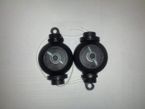 Easy Rolls zum stufenlosen Aufhängen von Lampen Reflektoren - 2 Stück