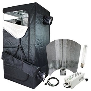 Greenception Grow-box Set 100x100x200 cm Komplettpaket